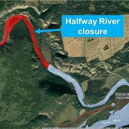 Halfway River Closure