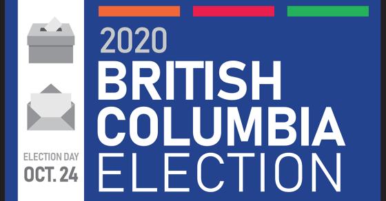 2020 British Columbia Election Reminder