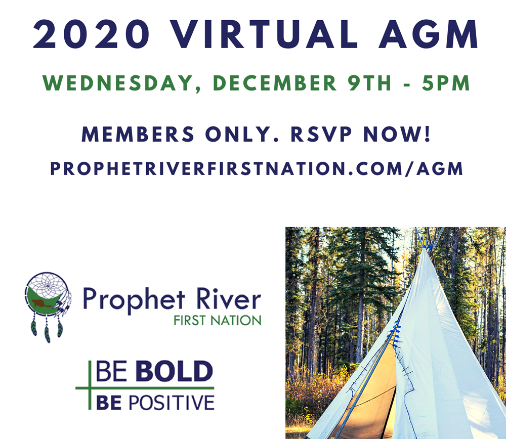 RSVP now for the 2020 Virtual AGM