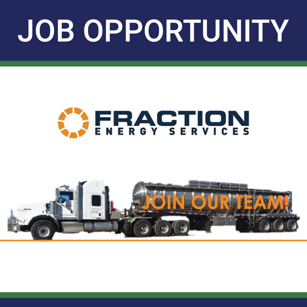 Job Opportunity – Class One Operators