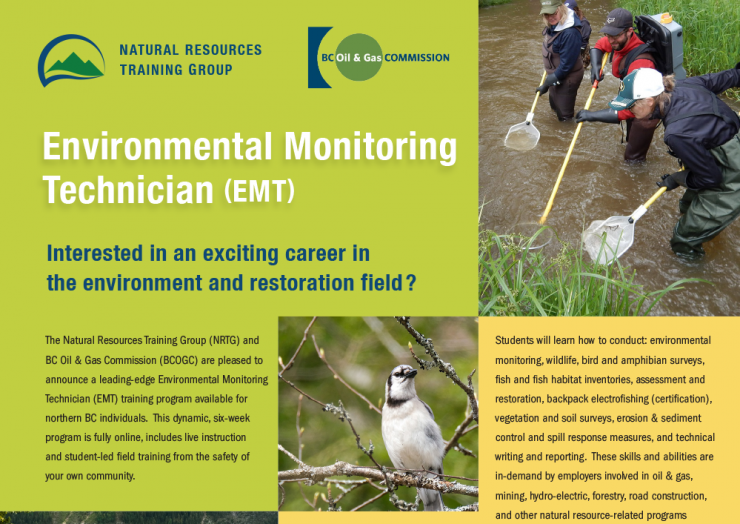 Training Opportunity – Environmental Monitoring Technician