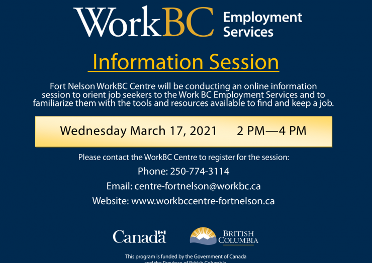 WorkBC Information Session