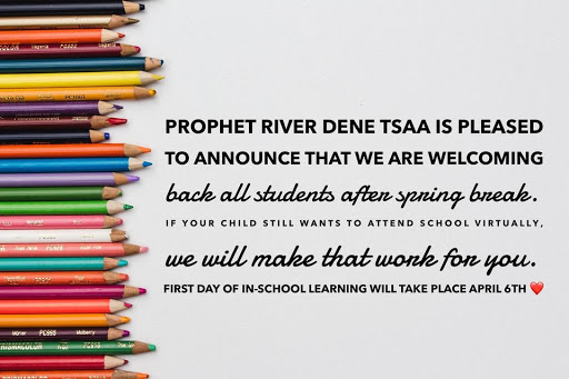 Students return April 6th!